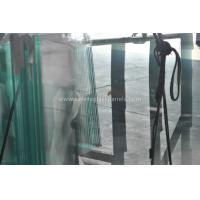 Buy cheap Fencing French Green Laminated Security Glass With High Temperature from Wholesalers