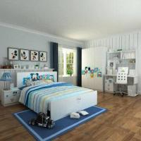 Wholesale Kids'/Children's Bedroom Furniture, E0 Grade, MDF, with Desks & Chairs, Cartoon Figure Design from china suppliers