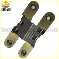 Wholesale cabinet door hinges concealed hinges 3D adjustable hinges hidden hinges  invisiable hinge from china suppliers