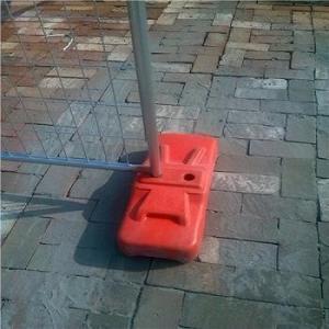 Buy cheap Temporary fence base,HDG temporary fence feet,plastic feet,Block Feet from wholesalers