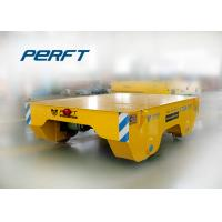 Wholesale Battery Operated Platform Transport Coil Car , Rail Manual Trolley For Industrial from china suppliers