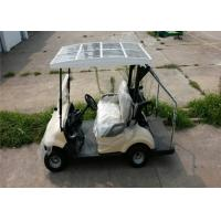 Buy cheap Two Person Electric Club Cart Golf Cart  For Golf Courses With Solar Energy Panel from Wholesalers