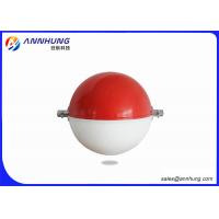 Wholesale 600mm yellow red white Aircraft Warning Sphere for transmission line from china suppliers