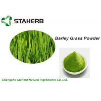 Wholesale Water Soluble Vegetable Extract Powder , Green Barley Grass Powder Losing Weight from china suppliers