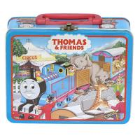 Wholesale Metal Tin Lunch Box With Plastic Handle And Lock , Fabulous Can from china suppliers