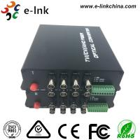 Wholesale 8 Channel AHD CVI TVI Over Fiber Optic Media Converter 20km Transmission Distance from china suppliers
