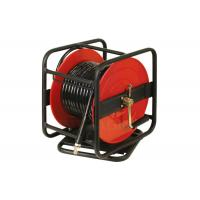 Universal Rotation Air And Water Hose Reel For PU / PVC / Hybrid / Polymer Hose