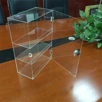China acrylic display boxes clear acrylic boxes with lock on sale