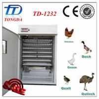 Wholesale TD-1232 automatic ventilator incubator for poultry farm from china suppliers
