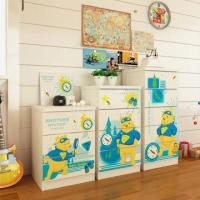 Wholesale E0 Grade Kids'/Children's Furniture, 3/4/5 Drawer Chest with Lovely Cartoon Designs from china suppliers