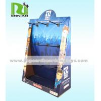 Wholesale Peg Hook Corrugated Cardboard Counter Displays Fashion Point Of Sale Display from china suppliers