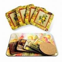 Wholesale Cork Coaster in Square Shape from china suppliers