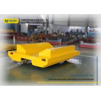 Wholesale Cast Steel Wheel Motorised Rail Trolley 15 Ton Capacity With Safe Device from china suppliers