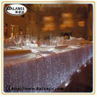 Wholesale restaurant optical fiber table cloth for coffee table, bar counter from china suppliers