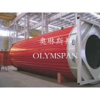 Wholesale Horizontal Heating Thermal Oil Boiler Electric For Wood , Safe Monitor Device from china suppliers