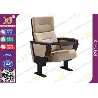 Buy cheap Soild Molded Bent Plywood Back Church Auditorium Chairs With ABS Tablet from wholesalers