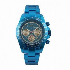 China Aluminum Fashionable Watch with Miyota OS20 Movement on sale
