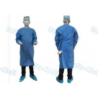 Wholesale Barrier Disposable Surgical Gown , SMS Surgery Gown Alcohol Resistant With Towels from china suppliers