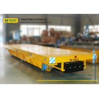 Wholesale Anti-Explosion Industrial Transfer Trolley , Hot Rolled Coil Transfer Railway Platform Battery Cart from china suppliers