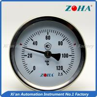 Wholesale Back Mount Bimetal Dial Thermometer For Controlling The Temperature from china suppliers
