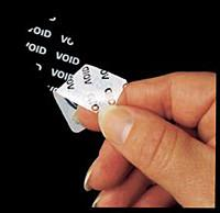 VOID Sticker Tamper Proof Security Labels With High Residue Tampered Message