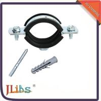 Rubber lined galvanized pipe clamps of item
