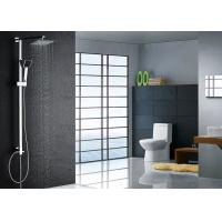 Wholesale Super Thin Square Rainfall Modern Shower Fixtures , Chrome Shower Fixtures ROVATE from china suppliers