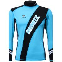 Wholesale Tight Sun-proof Lycra Rash Guard Nylon Durable Watersport Elastic Shirt from china suppliers