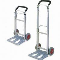 Wholesale Aluminum Trolley/Hand Truck with 6-inch Rubber Wheel and 100kg Capacity from china suppliers