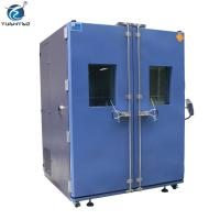 Wholesale Double Doors Programmable controller 1000 L climate simulation test constant temp. humi. test chamber from china suppliers