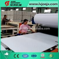 China Fully Automatic 600x600 Vinyl Covered Gypsum Board Making Machine on sale