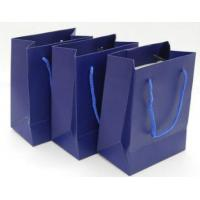 Wholesale Custom Printed Paper Gift Bags With Handles , Colored Paper Packaging Bags from china suppliers