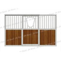 Wholesale Sliding Door Horse Stable Box With Accessories Homemade Horse Stables Stall With Wire from china suppliers