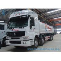 Wholesale Howo 8x4 Sinotruk Fuel Tank Truck , 310HP Carbon Steel Tanker Truck from china suppliers