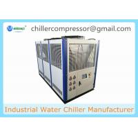Quality +5C~+35C 10hp - 40 hp Industrial Air Cooled Water Chiller Machine For Plastic for sale