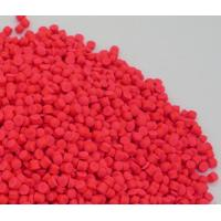 Wholesale Fluorescence Pink Plastic Masterbatch 18% EVA Carrier For IP Injection from china suppliers