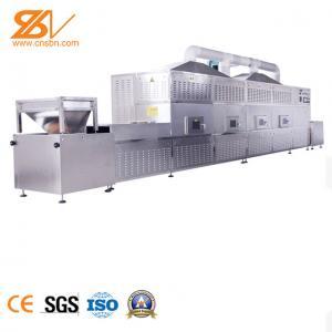 China Cocoa Bean Microwave Sterilization Machine Perfect Mechatronic Design on sale
