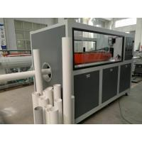 PVC Water Supply two screw extruder Conic Double Screw Length 20m-42m