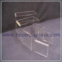 China Clear Acrylic Shoe Risers on sale