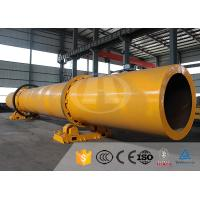 Wholesale Horizontal Single Drum Dryers For Wood Chips , Silica Sand Rotary Dryer from china suppliers