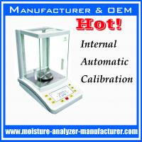 Wholesale 0.1mg internal automatic calibration analytical balance from china suppliers