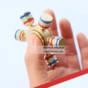 Buy cheap EDC Fidget Toy Hand Finger Spinner Toys For Adults,Hybrid Ceramic Bearing 608 for Tri Spinner Finger from wholesalers