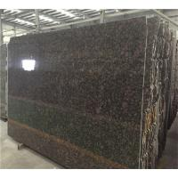 Wholesale 24X24 Tropic Brown Granite Tile Countertop , Lowes Granite Tile For Countertops from china suppliers