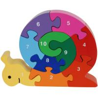 Wholesale Wooden Puzzle Box W/Magnetic Sticker-2012 New Family Animals from china suppliers