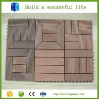 Buy cheap HEYA superior quality cheap portable wood composite decking tiles for sale from wholesalers