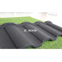 Wholesale Wholesale colorful stone coated Alu-Zinc Steel roof tile,bad weather protect stone coated steel roofing tiles from china suppliers