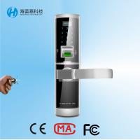 Wholesale High security sliver zinc alloy safe keyless door locks for home from china suppliers