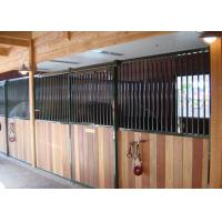 Wholesale Horse Riding Club Prefab Horse Stalls, Powder Coated Metal Horse Stalls from china suppliers