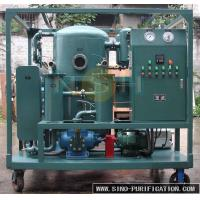 Wholesale Insulation Oil Purification Systems , Regenerate Deteriorated Transformer Oil Purifier Machine from china suppliers