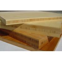 Buy cheap naturally solid bamboo panel products with European grade glue in crossed construction from Wholesalers